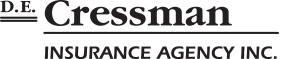 D.E. Cressman Insurance Agency Logo